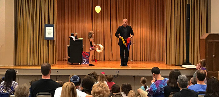 Tampa Magicians & Entertainers for Kids birthday parties – children's party Magic show entertainment