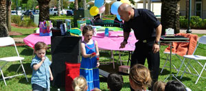 Tampa Magician kid's birthday party