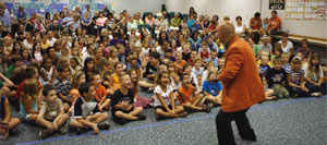 St. Petersburg Magician kids birthday parties. St. Petersburg children party entertainers