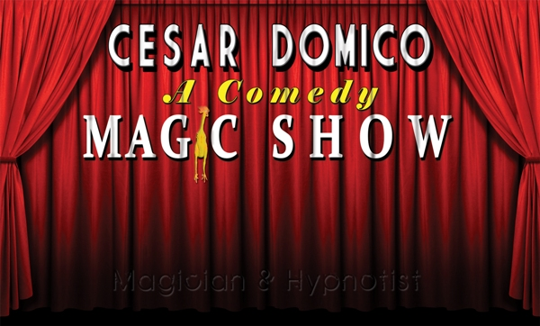 Cesar Domico - Magician - magic shows - Orlando, Miami, Tampa, Sarasota, Florida